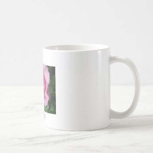 Pink Rose, MOM Coffee Mugs