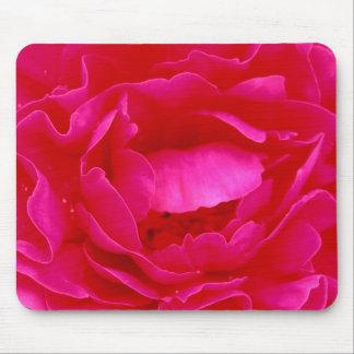 Pink Rose Mousepad - Customizable
