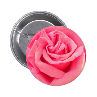 Pink Rose of Love Button