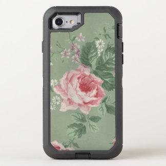 Pink Rose OtterBox Defender iPhone 7 Case