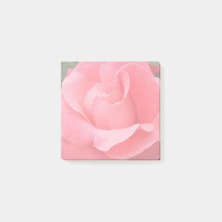 Pink Rose Petals Floral Post-it Notes
