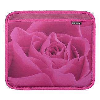 Pink Rose Petals iPad Sleeve