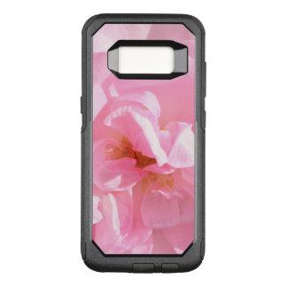 pink rose petals OtterBox commuter samsung galaxy s8 case