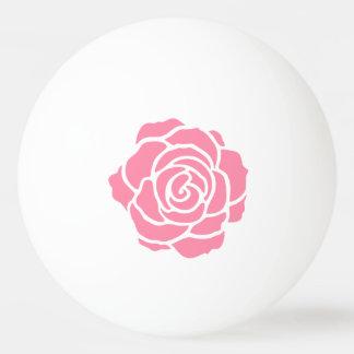 Pink Rose Ping Pong Ball