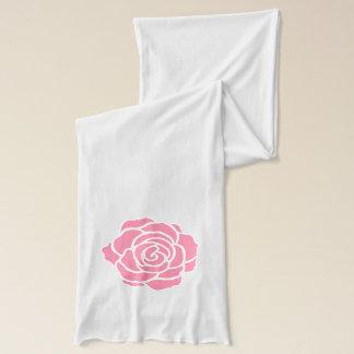Pink Rose Scarf