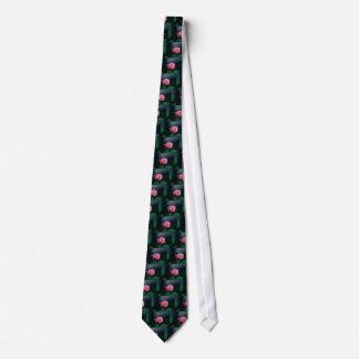 pink rose tie