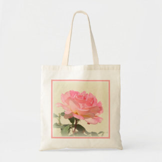 Pink Rose Tote