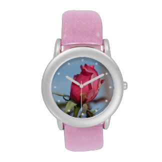 Pink Rosebud Watches