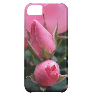 Pink rosebuds iPhone 5C case