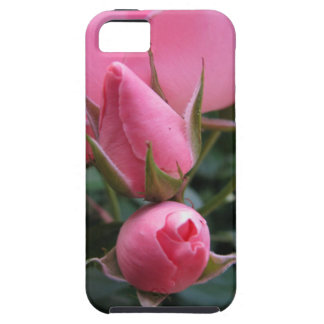 Pink rosebuds iPhone 5 covers