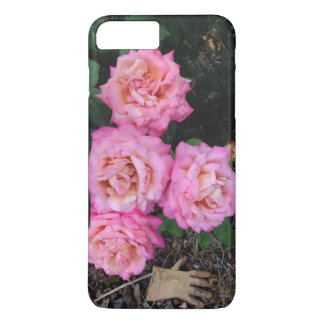 Pink Roses and Garden Glove iPhone 7 Plus Case