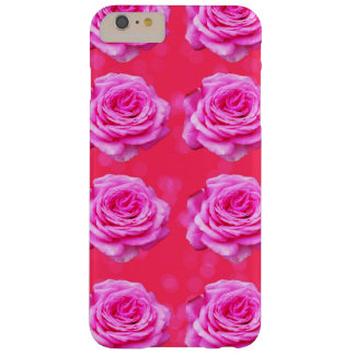 Pink_Roses_Bokeh,_iPhone_Six_Tough_Case. Barely There iPhone 6 Plus Case