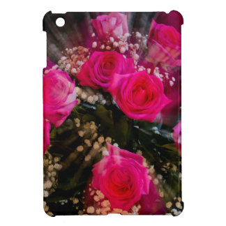Pink Roses Bouquet Explosion Case For The iPad Mini