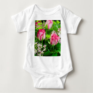 Pink Roses Bouquet Shirts