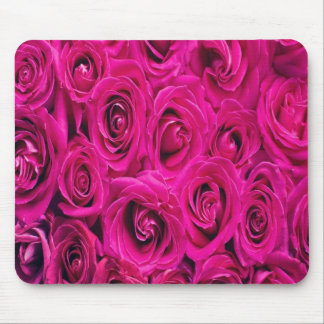 Pink Roses Customized Mousepad