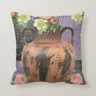 pink roses decorative lamp shade throw pillow