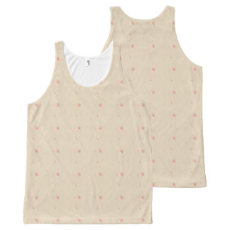 Pink-Roses-Floral-Cream-Style(c)-Tank-Top