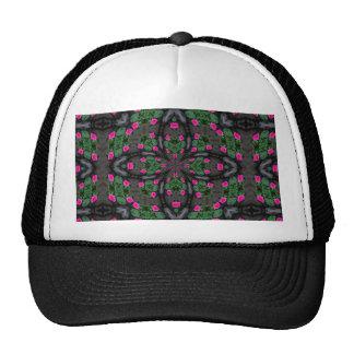 Pink Roses Kaleidoscope hat