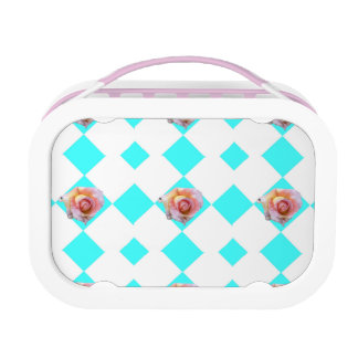 Pink Roses Lunch Box