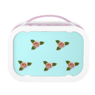 Pink Roses Lunch Boxes