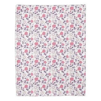 Pink roses pattern Duvet cover