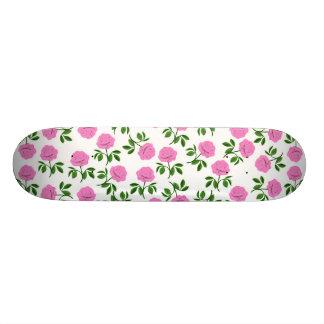 Pink Roses Skateboard