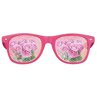Pink Roses Sunglasses