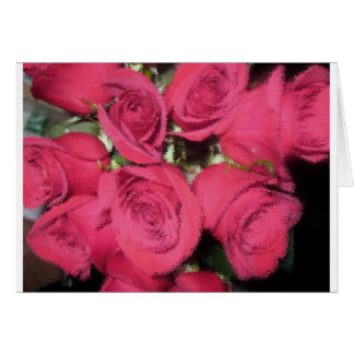 Pink Roses with dry brush II.jpg Card