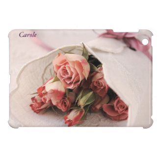pink roses with linens iPad Mini Savvy case iPad Mini Covers