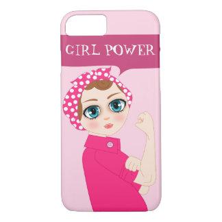 Pink Rosie iPhone 7 Case
