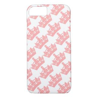Pink Royal Crown British iPhone 7 Case