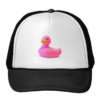 Pink Rubber Duck Trucker Hat