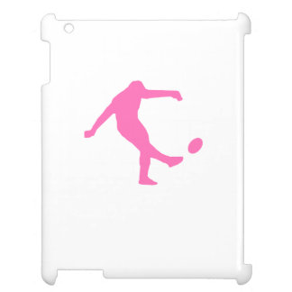Pink Rugby Kick iPad Covers