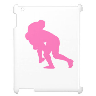 Pink Rugby Tackle iPad Cases