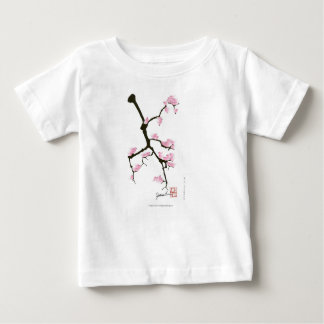 pink sakura and birds, tony fernandes baby T-Shirt