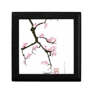 pink sakura and birds, tony fernandes gift box