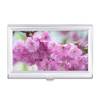 Pink Sakura Cherry Business Card Cases