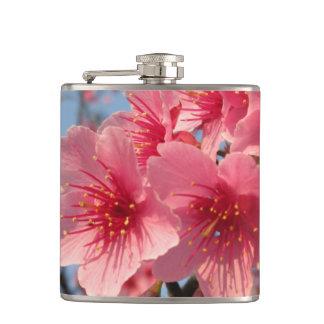 Pink Sakura Cherry Hip Flask