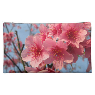 Pink Sakura Cherry Makeup Bag