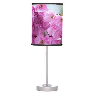 Pink Sakura Cherry Table Lamp