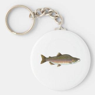 Pink Salmon Keychain