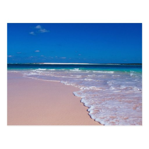 Pink sand beach at Conch Bay, Cat Island, Post Cards