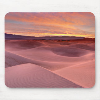 Pink sand dunes, Death Valley, CA Mouse Pad