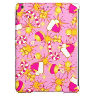Pink - Santa's cap iPad Air Covers