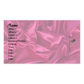 Pink Satin Heart! Business Card
