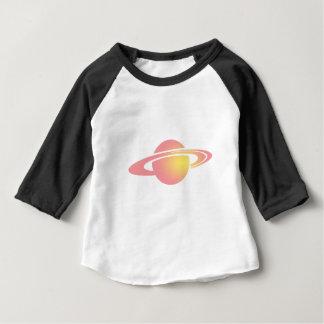 Pink Saturn Baby T-Shirt