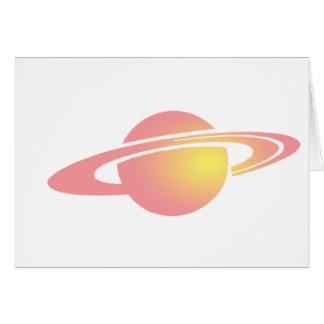 Pink Saturn Card
