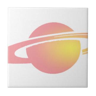 Pink Saturn Tile
