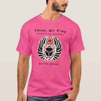 PINK SCOTTIE JORDAN new distorted logo shirt