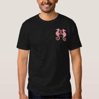 Pink Sea Horses T-shirts